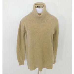 Madewell Lambs Wool Cowl Neck Turtleneck Sweater